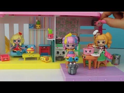 Shopkins Happy Places Ev Oyun Seti Açıp Oda Dekoru Yapıyoruz!! Cicibicilerin Evi | Bidünya Oyuncak