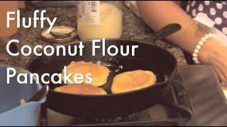 Fluffy Coconut Flour Pancakes (gluten-free, Grain-free, Nut-free)