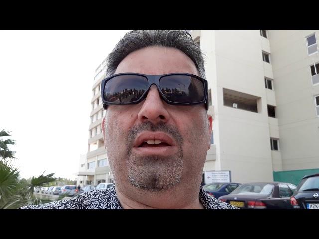 The chaos at Larnaca Hospital