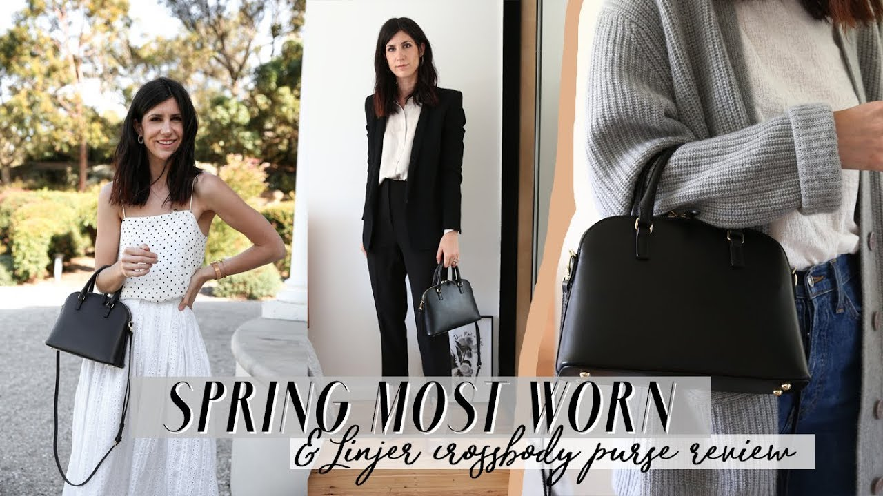 Spring Most Worn Items - Four Minimal Outfits + Linjer Crossbody Bag Review | Mademoiselle [AD] 1