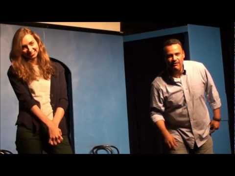Dumping Ernie with Lauren Lapkus at iO West Feb. 10th 2012 ...