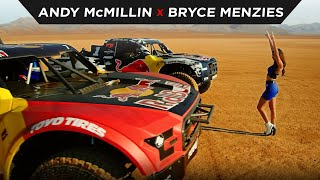 homepage tile video photo for ANDY McMILLIN X BRYCE MENZIES DRAG RACE | #TOYOTIRES | [4K]