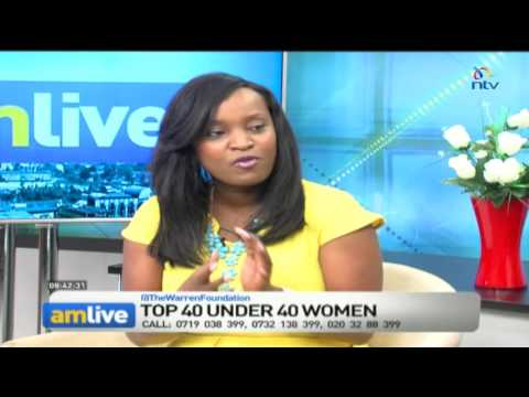 AM Live:  Top 40 Under Women 2016
