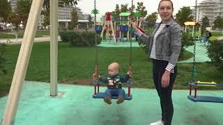 Тест драйв детской площадки в Сочи Парк Отель
