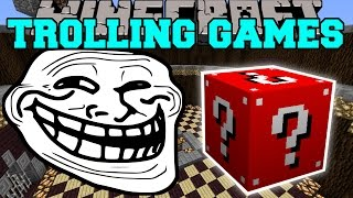 Minecraft: EGYPTIAN TROLLING GAMES - Lucky Block Mod - Modded Mini-Game
