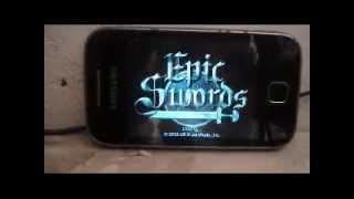Epic Swords HD V0.9.81 APK For Galaxy Y & All Armv6 & Armv7 Android Devices BY Galaxy4Gaming.in