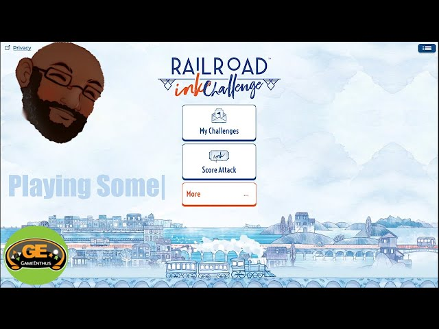 Playing Some|:  Railroad Ink Challenge (Steam/PC)