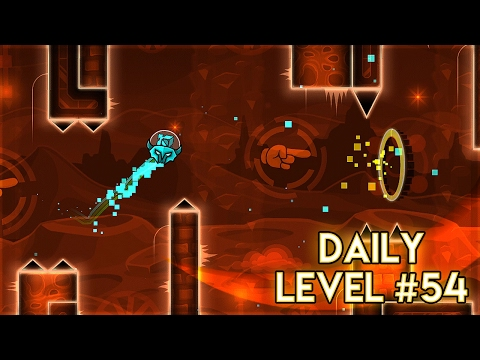 "DAILY LEVEL #54 | Geometry Dash 2.1 - ""Identification"" by Tedesco96 