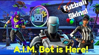 Fortnite-A.I.M. Bot, Futballosok, flying, V-Bucks Challenge! V 6.22!