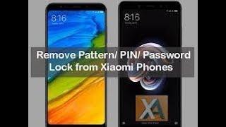 MI - Redmi 6pro  Pattern lock mi account gmail lock bypass..