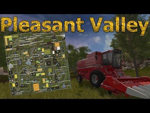 ГИГАНТСКАЯ КАРТА! Pleasant Valley, Farming Simulator.