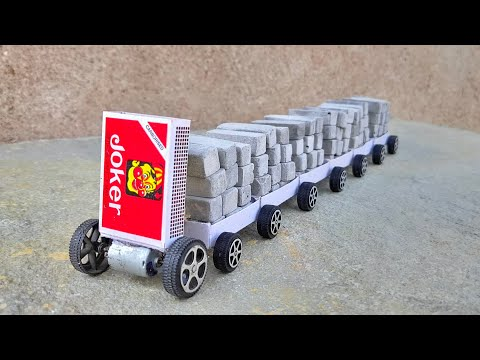 How to Make Matchbox Train Truck at Home Toy Diy