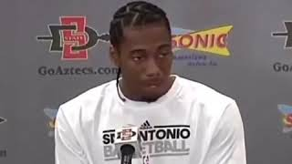 The Evolution of Kawhi Leonard's Laugh