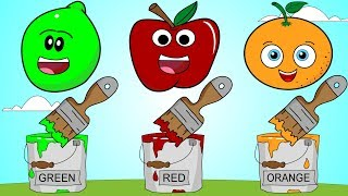 Fruit Colors Song 2