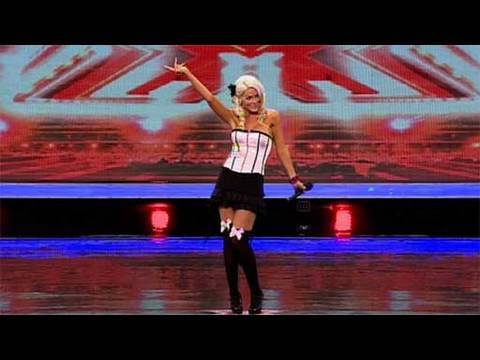The X Factor 2009 - Faye Bray - Auditions 5 (itv.com/xfactor)