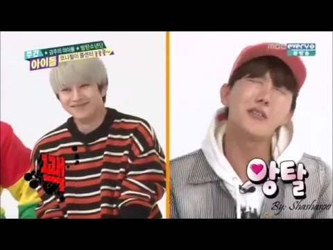 (ENGSUB)Bangtans boys alarm Cut-Weekly idol BTS with Heechul