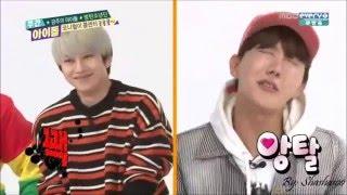 (ENGSUB)Bangtans boys alarm Cut-Weekly idol BTS with Heechul of Super Junior♥