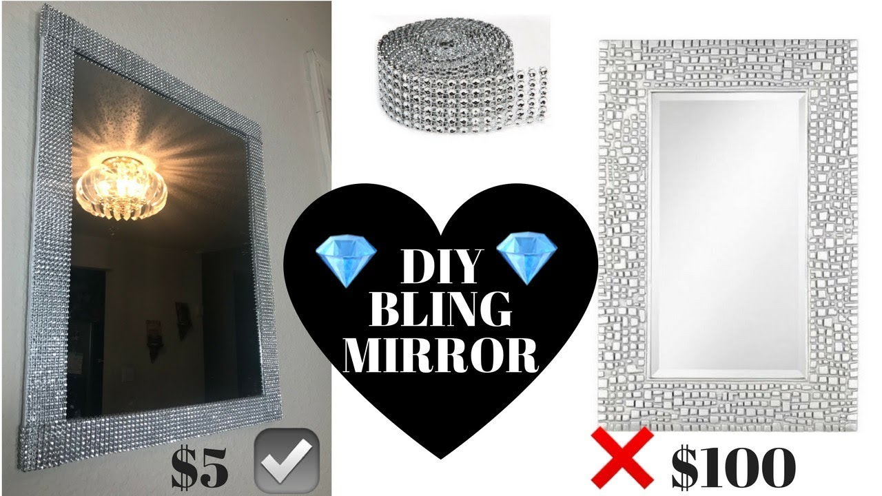 Diy 5 Bling Out Mirror You