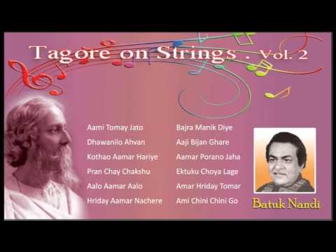 Tagore on Strings | Batuk Nandi Plays Ranbindra sangeet on the Guitar | Instrumental Tagore  Vol - 2