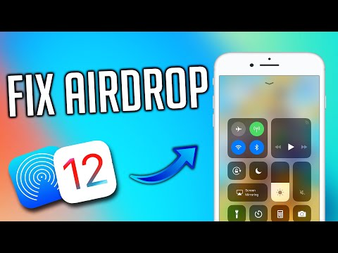 Airdrop NotWorking? How To Fix Airdrop On iOS 12\How To Fix Airdrop On iPhone! TechnoTrend Exclusive
