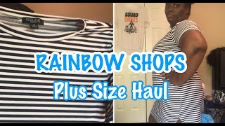 RAINBOWS PLUS SIZE HAUL + TRY ON | Under $40