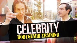 Celebrity Bodyguard Training