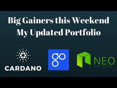 Big Crypto Gains This Weekend, My Updated Portfolio & Solid Advice for Noobies