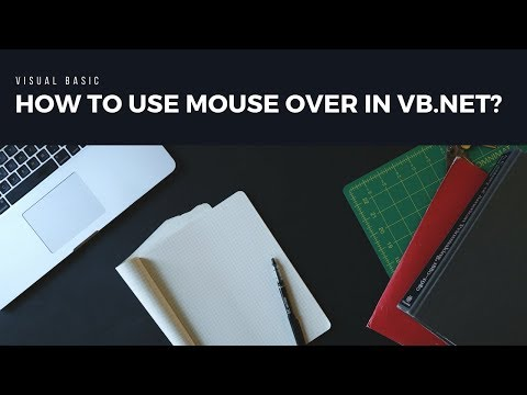 How to use mouse over in vb.net  : Visual Basic Programming