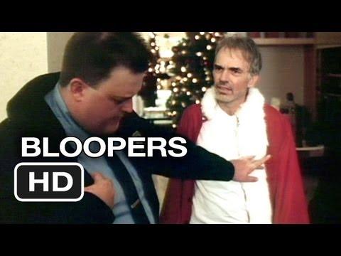 Bad Santa Bloopers 1 2003  Billy Bob Thornton Movie HD