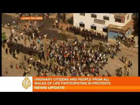 Fresh protests erupt in Egypt