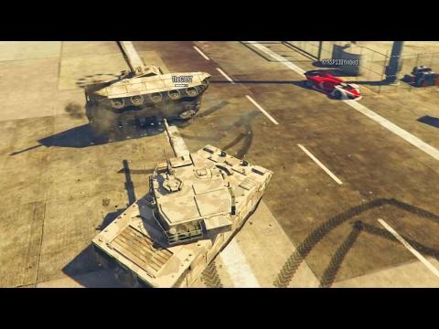 Makin Tank Love! GTA 5 Airport Free Roam With The Crew!
