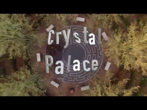 Crystal Palace Maze, Largest in London. Drone
