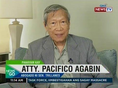 NTG: Panayam kay Atty. Pacifico Agabin, abogado ni Sen. Trillanes