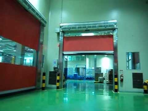 KAD with Air curtain, High Speed Door indonesia, Pintu rolling ...