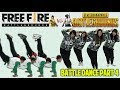 BATTLE DANCE FREE FIRE VS PUBG PART 4 - IKAN ASIN - TAKUPAZ DANCE CREW