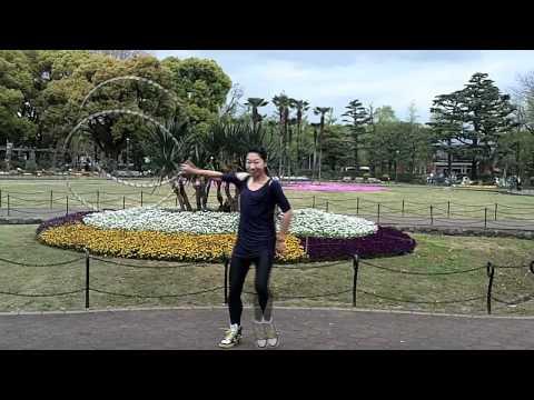 Japan Tricks Showcase - Hinomaru Jump by Ayumi