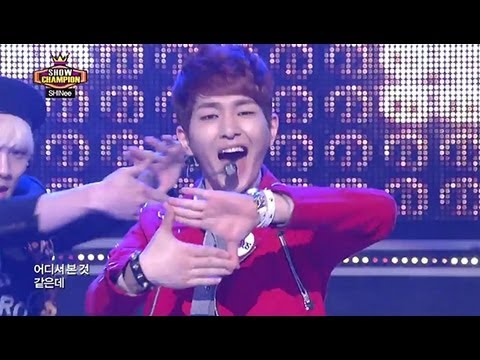 SHINee - Why So Serious?, 샤이니 - 와이 쏘 씨리우스?, Show champion 20130508