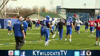 Kentucky Wildcats TV: Coach Mainord Mic