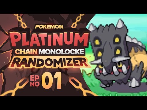 "Pokemon Platinum Chain Monolocke Randomizer | Episode 01 | A ""ROCKY"" START!"