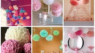 как украсить комнату к свадьбе своими руками