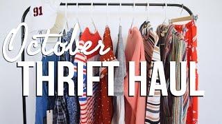October Thrift Haul | The Fashion Citizen