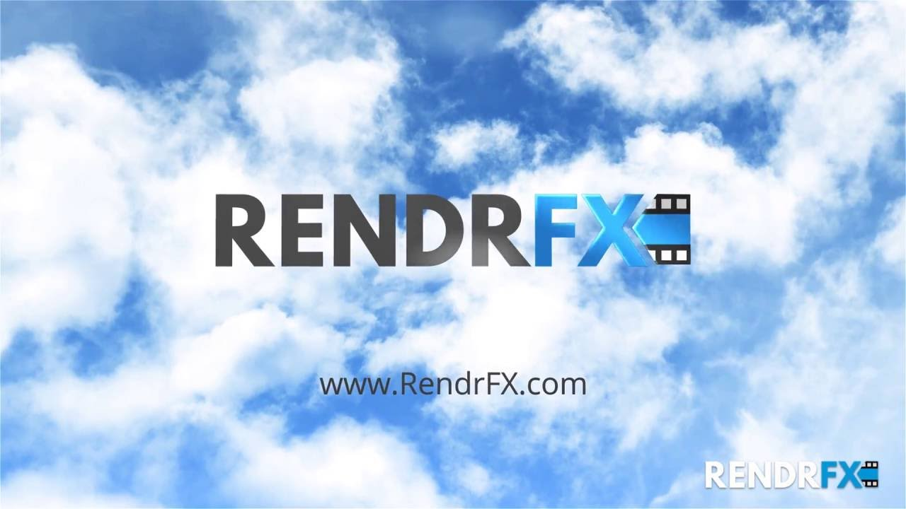 RendrFX Intro Maker - Blue Skies (Intro Template)