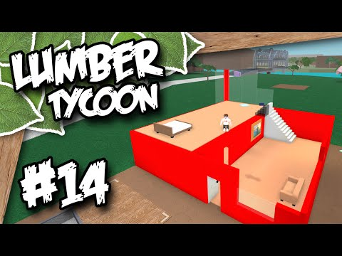 Lumber Tycoon 2 #14 - BUILDING BASE UPGRADES (Roblox Lumber Tycoon)