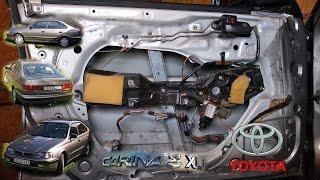 2015.06.22. Toyota Carina E:  Ajtóbelső szerelés - Door Panel Assembly / Disassembly