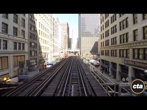 CTA Ride the Rails: Brown Line in Real Time