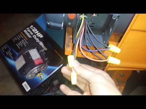 marathon 1/2 hp low voltage motor wiring 9 wires - youtube  youtube