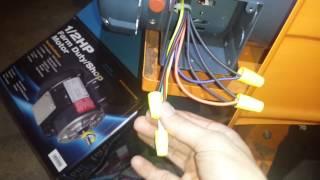 Marathon 1/2 hp low voltage motor wiring 9 wires