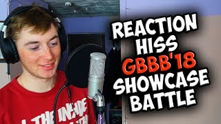 HISS | Grand Beatbox SHOWCASE Battle 2018 | Reaction (ENG SUB)