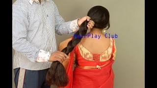 Long hair romantic play
