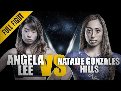 ONE: Full Fight | Angela Lee vs. Natalie Gonzales Hills | A Slick Twister Submission | November 2015